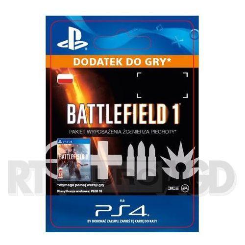Sony Battlefield 1 - pakiet wyposażenia żołnierza piechoty [kod aktywacyjny]
