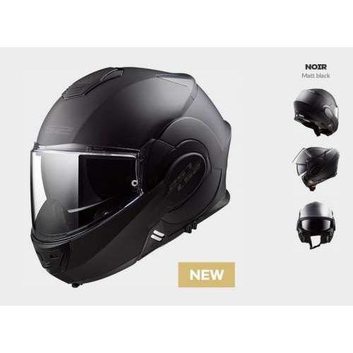 Ls2 Kask motocyklowy ff399 valiant noir matt black - model: rok 2019! + ciemna szyba gratis!
