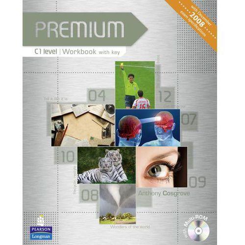 Premium C1 Workbook (zeszyt ćwiczeń) with Key plus Multi-ROM, Pearson
