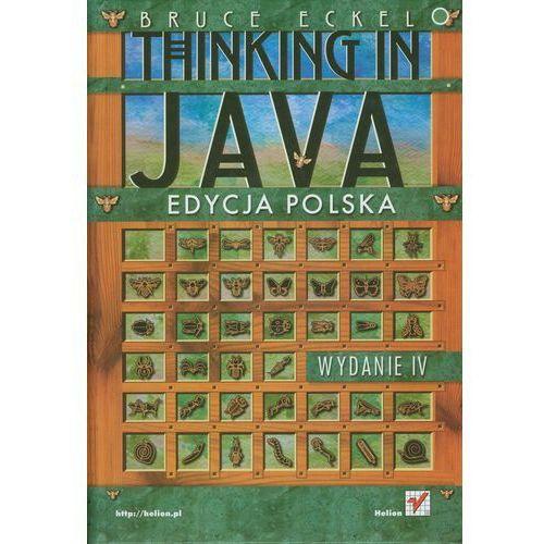 Thinking In Java, książka z kategorii Informatyka