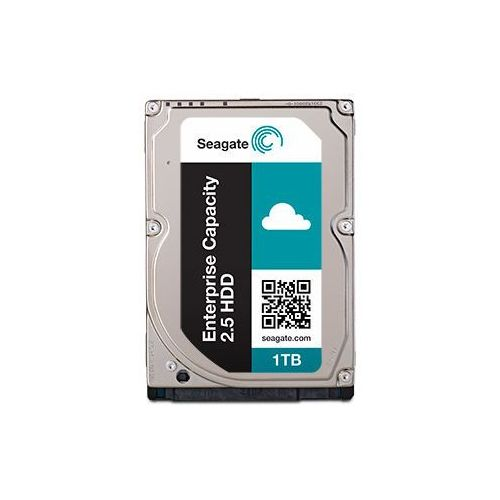 SEAGATE Enterprise Capacity 2.5 1TB HDD 512Emulation 7200rpm 128MB cache 2,5inch SATA 6Gb/s 24x7 long-term usage BLK