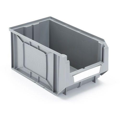 Aj Szare pojemniki magazynowe 11,6 l 205x165x345mm - cena za1 szt. /24szt w op