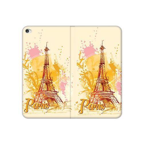 Apple iPad Air 2 - etui na tablet Flex Book Fantastic - żółta wieża eiffla