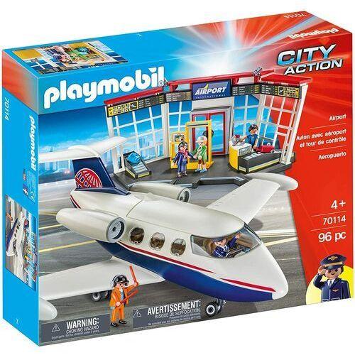 Figurki city action 70 114 lotnisko marki Playmobil