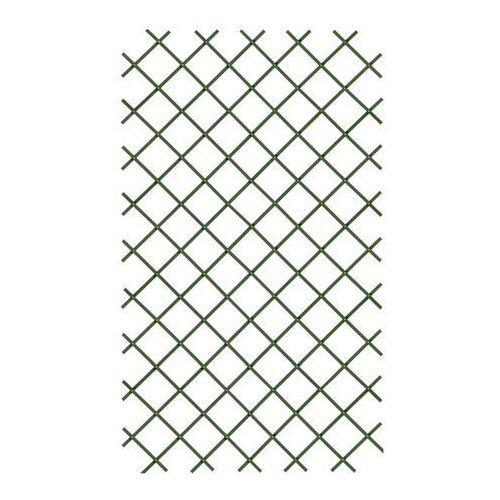 Kratka PVC rozkładana 100 x 200 cm zielona (3663602430520)