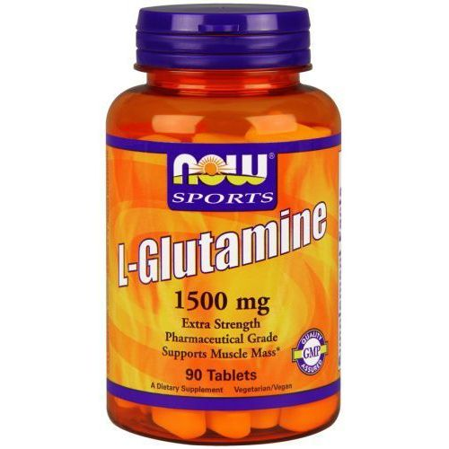 L-glutamina 1500 mg - 90tab foods marki Now