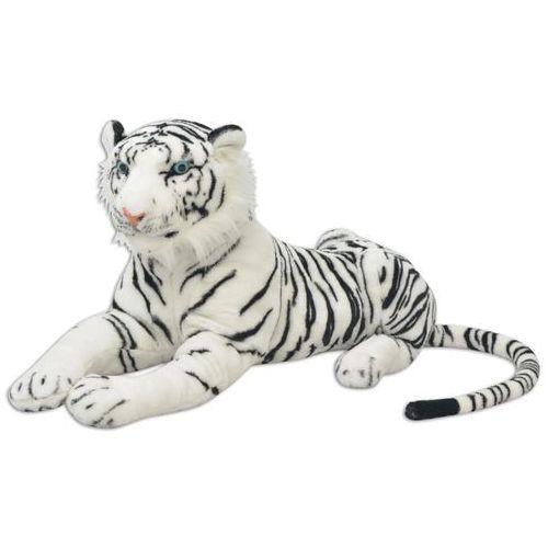 vidaXL 80164 Tiger Toy Plush White XXL - Untranslated (8718475509134)