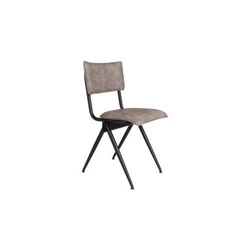 Dutchbone Krzesło Willow szare 1100342, kolor szary