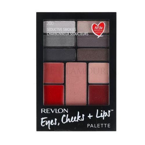 Revlon eyes, cheeks + lips zestaw 15,64 g paleta do makijażu dla kobiet 200 seductive smokies