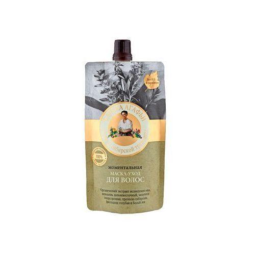 Pierwoje reszenie, rosja Babuszka agafia maska ekspresowa pielęgnacyjna do włosów (łaźnia agafii) 100ml