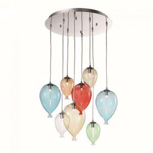 Ideal Lux Lampa wisząca Clown SP8 Color - 100944 (8021696100944)