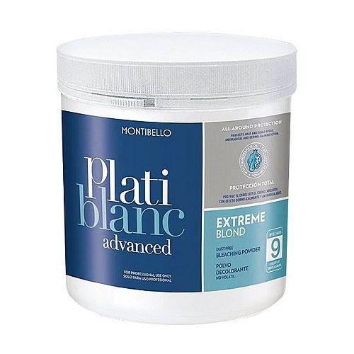 Montibello platiblanc advanced extreme blond level 9, rozjaśniacz bezpyłowy 500g