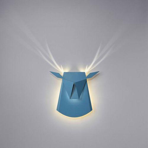 Popup lighting Dear head-kinkiet led jeleń z wtyczką dł.39cm