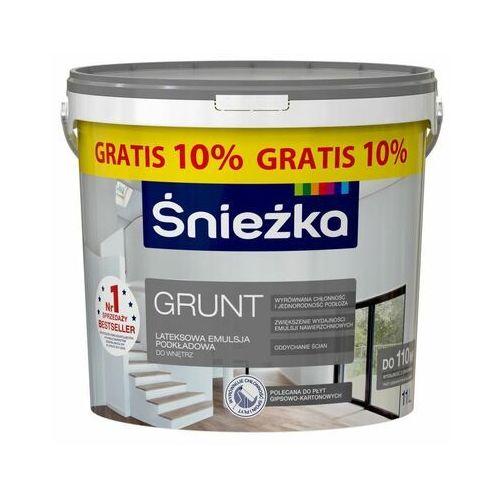Śnieżka Farba podkładowa grunt lateksowa 10 l + 10% gratis (5903973217749)