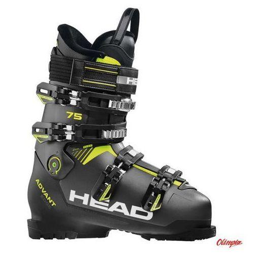 Head Buty narciarskie advant edge 75 anthracite/black/yellow 2018/2019