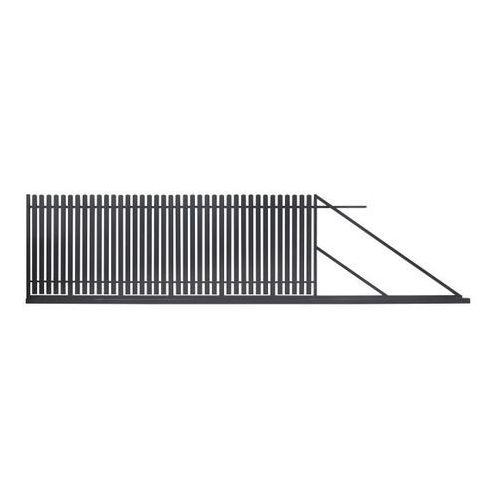 Brama przesuwna Polbram Steel Group Daria 2 400 x 150 cm prawa