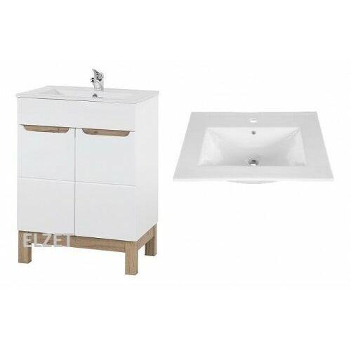 szafka bali white + umywalka 60 bali 820 + cfp-60d marki Comad