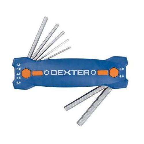 Zestaw kluczy imbusowych 7 szt. HEX 1.5 - 6 mm DEXTER (3276000247005)