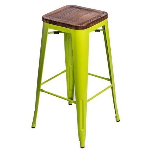 D2.design Hoker paris wood 75cm sosna - zielony jasny (5902385705677)