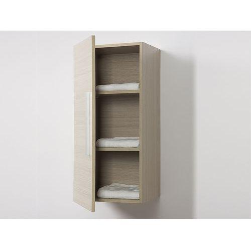 Meble łazienkowe - szafka wisząca łazienkowa beżowa - BILBAO - sprawdź w wybranym sklepie