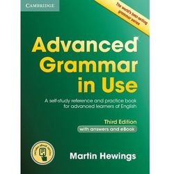 Advanced Grammar in Use with answers and Interactive eBook * natychmiastowa wysyłka od 3,99, Hewings Martin