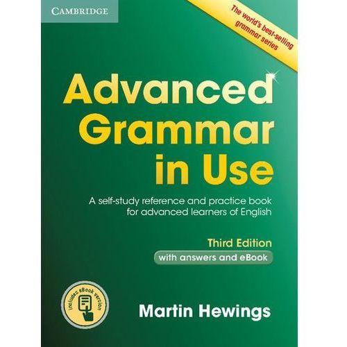 Advanced Grammar in Use with answers and Interactive eBook * natychmiastowa wysyłka od 3,99 (9781107539303)