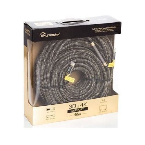 Kabel SKYMASTER HDMI - HDMI Gold 50m