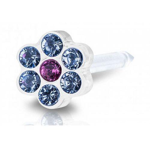 Blomdahl daisy alexandrite / rose 5 mm