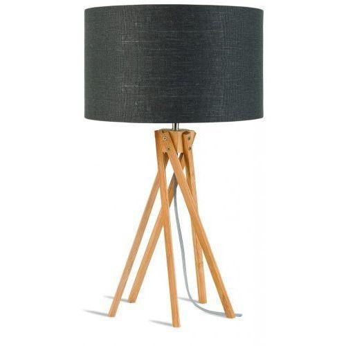 It's about romi Lampa stołowa kilimanjaro 5-nożna 34cm/ abażur 32x20cm, lniany ciemnoszary
