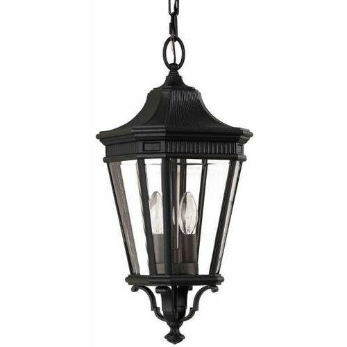 Lampa wisząca COTSWOLD LANE FE/COTSLN8/M GB IP23 - Elstead Lighting - Rabat w koszyku, FE/COTSLN8/M BK