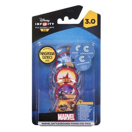 Disney infinity Zestaw figurek 3.0: marvel - dyski mocy battlegrounds