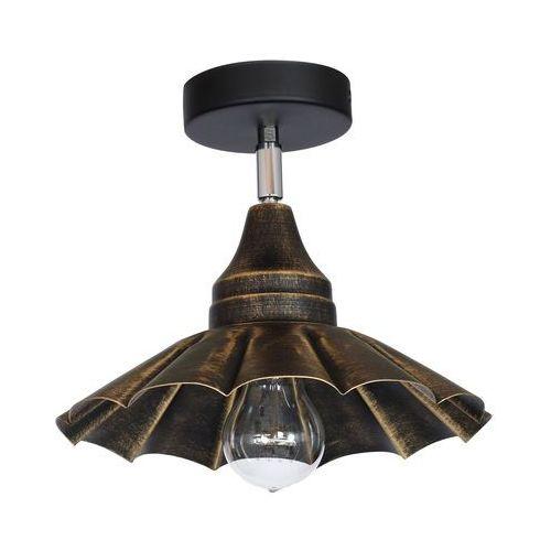 Plafon Luminex Dagma 8219 lampa sufitowa 1x60W E27 antyczne złoto, 8219