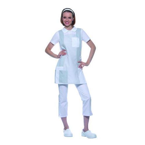 Tunika medyczna bez rękawów, rozmiar III, jasnoszara | KARLOWSKY, Nala