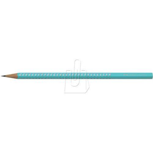 Ołówek Grip Sparkle Pastel turkus Faber-Castell (4005401183587)