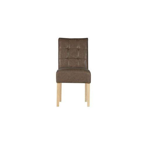 krzesło stołowe tijmen brązowe 340942-09 marki Woood