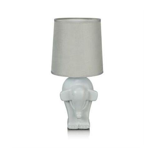 105791 ELEPHANT LAMPA STOŁOWA SZARA