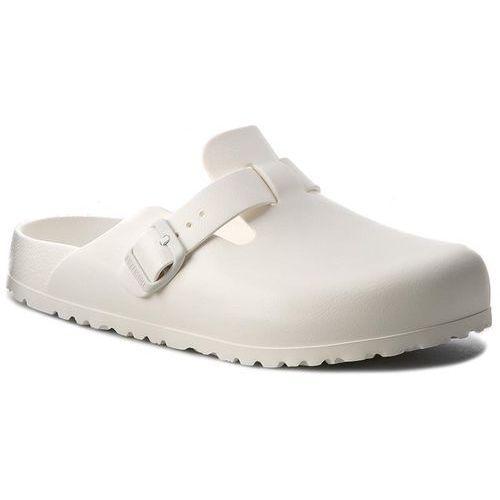 Birkenstock Klapki - boston 0127133 white