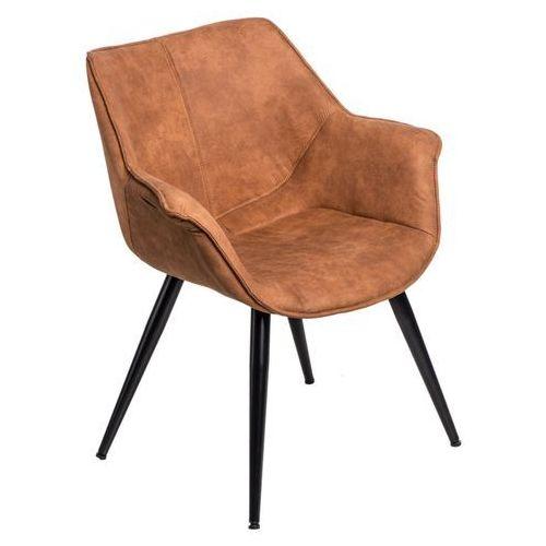 Krzesło Lord brązowe jasne 1023 MODERN HOUSE bogata chata, 72513