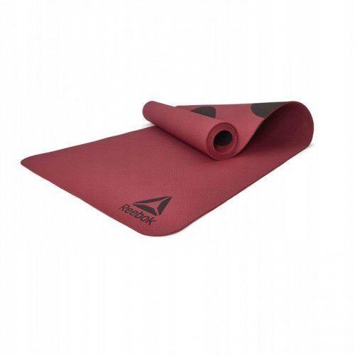 Reebok Mata do ćwiczeń joga mata rayg-11040poe-sh
