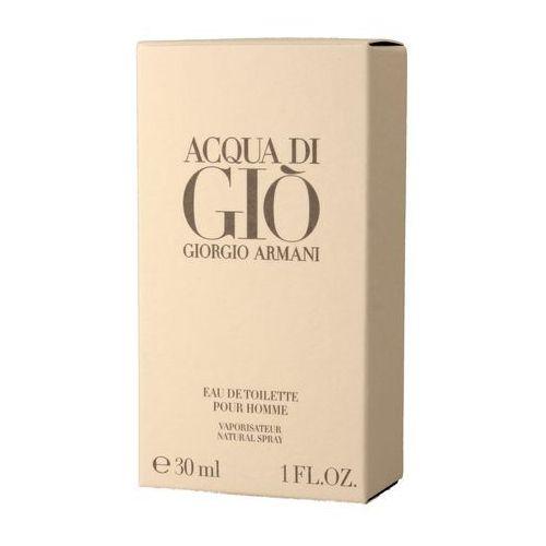 Giorgio Armani Acqua Di Gio Men 30ml EdT Armani Emporio Stronger With You woda toaletowa dla mężczyzn 1,2 ml gratis
