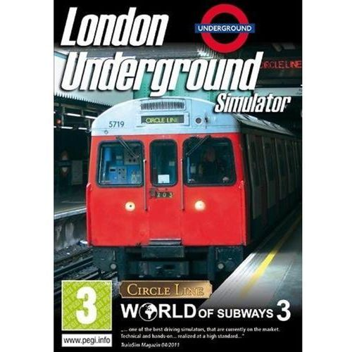 World of Subways 3 London Underground Simulator (PC)