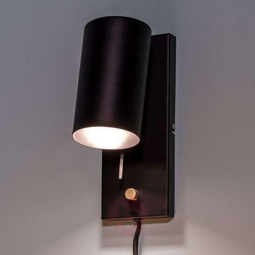 Kinkiet LAMPA ścienna CARRIE 106587 Markslojd metalowa OPRAWA ruchoma reflektorek czarny