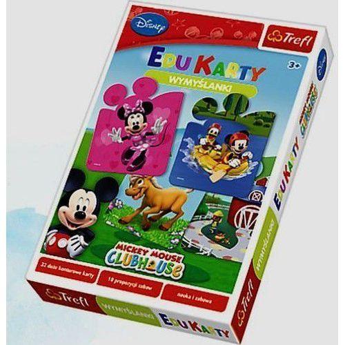 Myszka Miki i Przyjaciele Edu Karty wymyślanki - produkt z kategorii- Gry dla dzieci