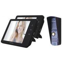 VIDEODOMOFON ABAXO MC-730CM Z PAMIĘCIĄ 2 x Monitor
