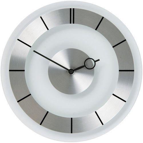 Zegar ścienny retro 31cm, szkło / stal (2790) marki Nextime