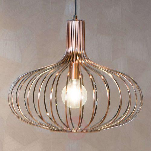 Lucide 78374/50/17 - Lampa wisząca MANUELA 1xE27/60W/230V miedziana 50 cm (5411212782069)