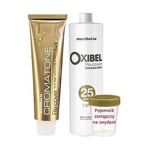 cromatone recover zestaw do farbowania włosów siwych 60ml + oxydant 60ml 10,0 marki Montibello