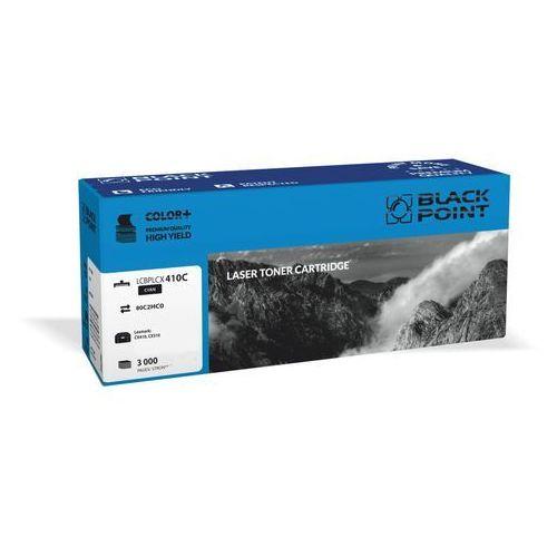 Toner BLACK POINT LCBPLCX410C 80C2HC0 Niebieski + DARMOWY TRANSPORT! (5907625622660)