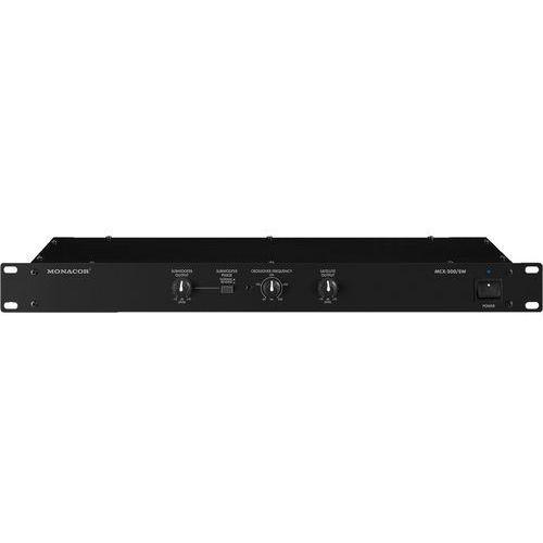 Monacor  mcx-200/sw - elektroniczna zwrotnica głośnikowa