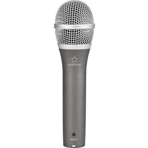 Mikrofon USB Renkforce DUS-01, Rodzaj transmisji danych: Przewodowa z kablem, DUS-01